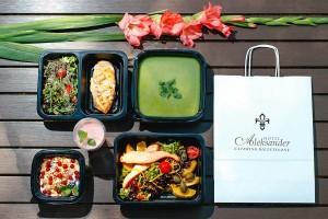 Catering dietetyczny Restauracji Aleksander we Włocławku
