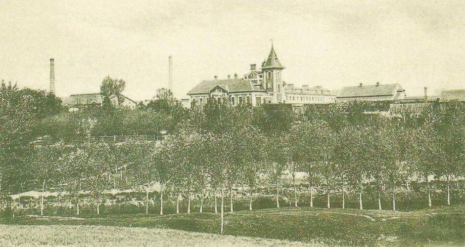 Widok na pałacyk Bojańczyka